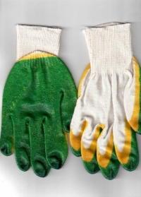 Перчатки с двойным латексным покрытием